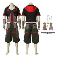Kingdom Hearts III Sora Cosplay Costume Full Set