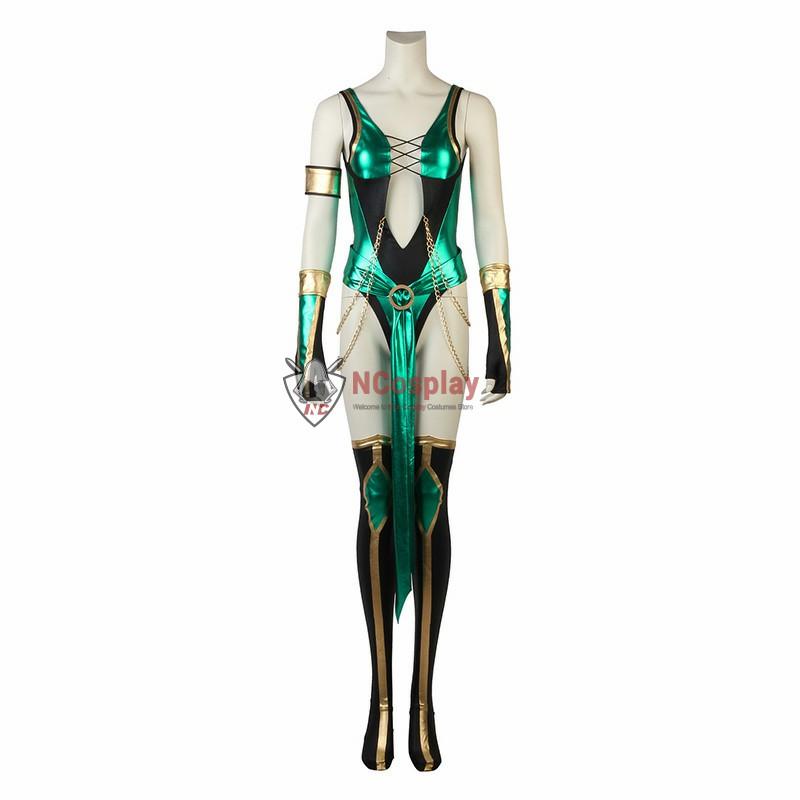 Mortal Kombat X Jade Cosplay Costume Full Set