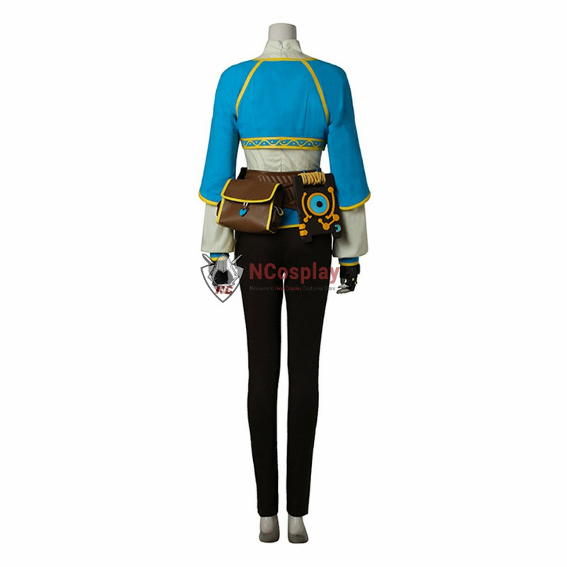 The Legend of Zelda Breath of the Wild Princess Zelda Cosplay Costume Full Set