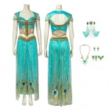 Disney Aladdin Princess Jasmine Cosplay Costume
