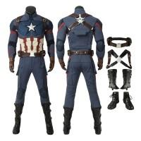 Avengers Endgame Captain America Steven Rogers Cosplay Costume