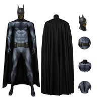 Deluxe DC Batman V Superman Dawn of Justice Batman Bruce Wayne Cosplay Costume