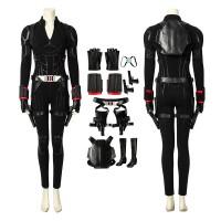 Marvel Avengers Endgame Black Widow Natasha Romanoff Cosplay Costume