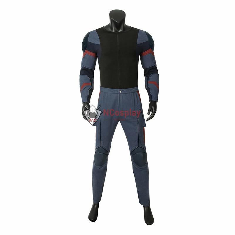 Improved Version Avengers Endgame Captain America Steven Rogers Cosplay Costume Full Set