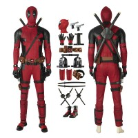 Deluxe Deadpool 2 Wade Wilson Cosplay Costume Full Set