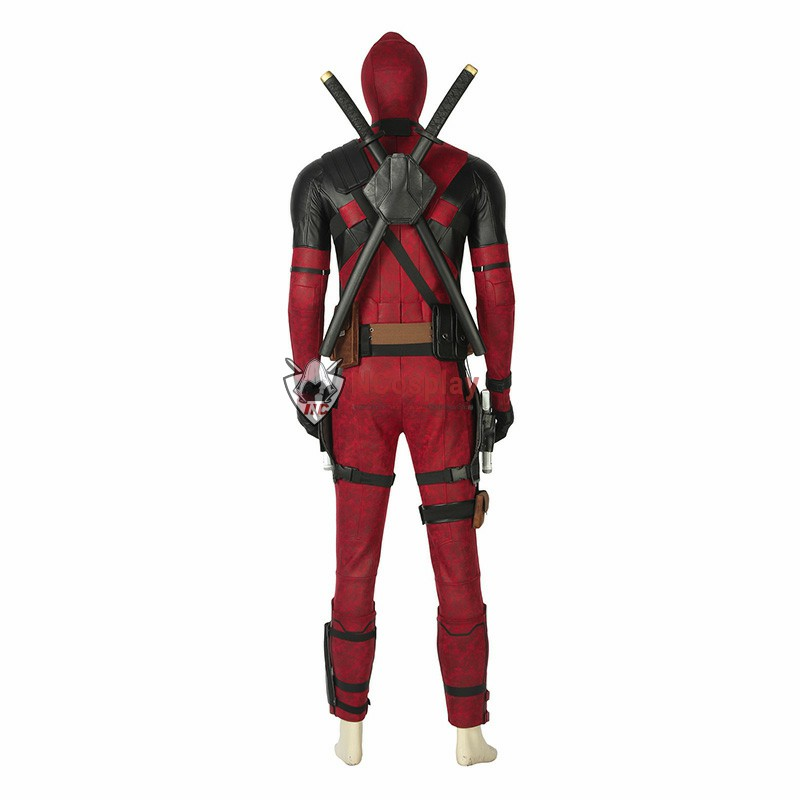 Deluxe Deadpool 2 Wade Wilson Cosplay Costume Full Set