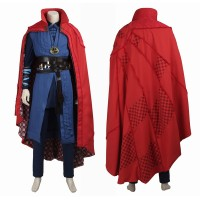 Marvel Doctor Strange Stephen Steve Vincent Cosplay Costume