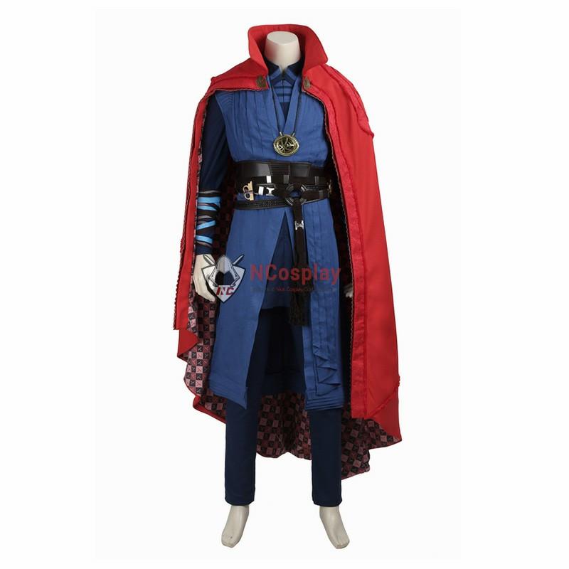 Marvel Doctor Strange Stephen Steve Vincent Cosplay Costume