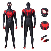 Spider-Man Into the Spider-Verse Miles Morales Cosplay Costume