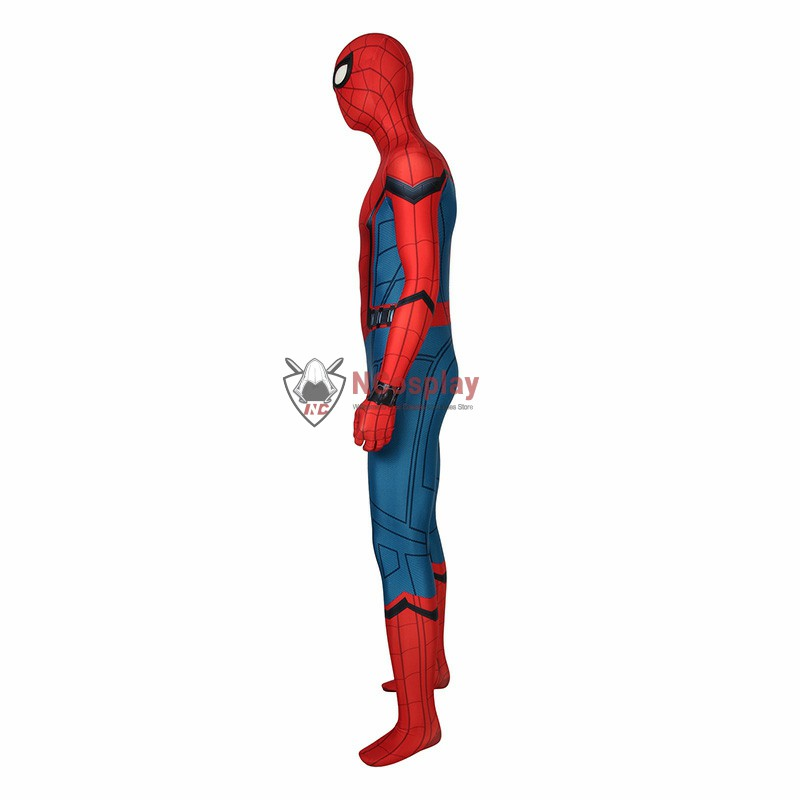 Spider-Man Far From Home Peter Parker Cosplay Costume