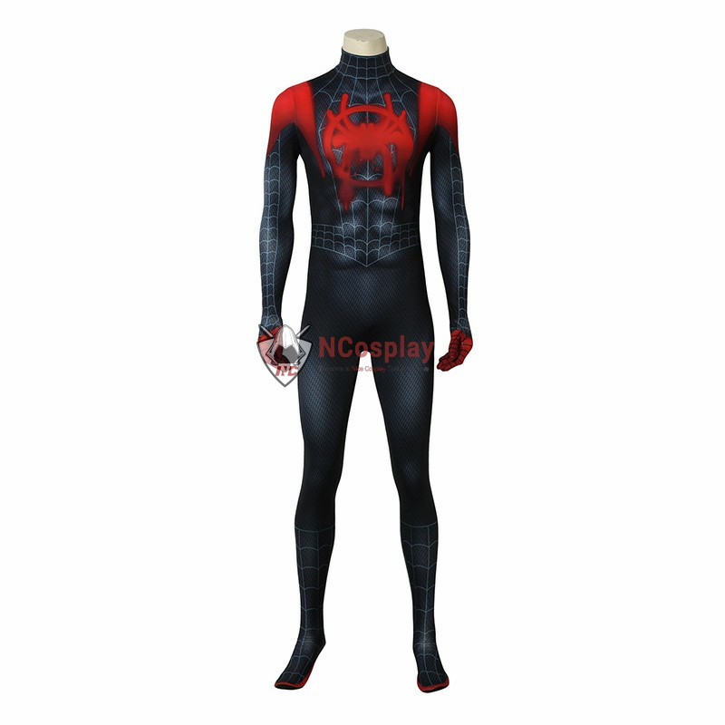Deluxe Spider-Man Into the Spider-Verse Miles Morales Cosplay Costume