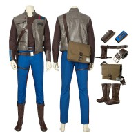 Star Wars The Rise Of Skywalker Finn Cosplay Costume Full Set