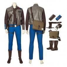 Star Wars The Rise Of Skywalker Finn Cosplay Costume Full Set