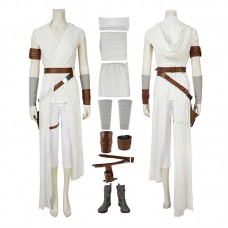 Star Wars The Rise Of Skywalker Rey Cosplay Costume Full Set