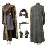Game Of Thrones Season 8 Arya Stark Cosplay Costume Full Set