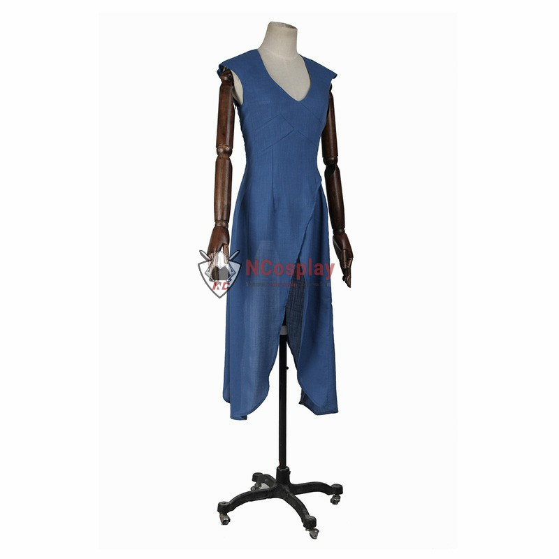 Deluxe Game Of Thrones A Song Of Ice And Fire Daenerys Targaryen Cosplay Costume