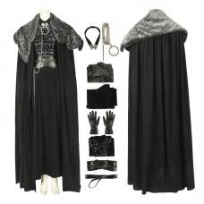 Game Of Thrones Season 8 Sansa Stark Cosplay Costume Full Set