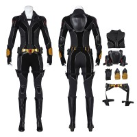Marvel 2020 Film Black Widow Natasha Romanoff Cosplay Costume Full Set