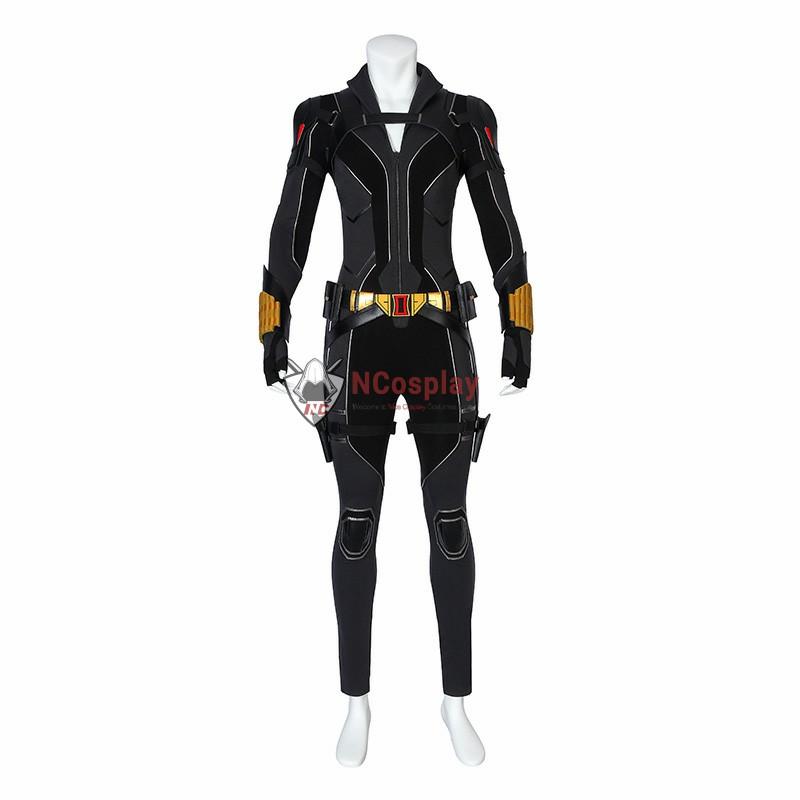 Marvel 2020 Film Black Widow Natasha Romanoff Cosplay Costume Full Set