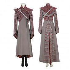 Game Of Thrones Season 8 Mother Of Dragons Daenerys Targaryen Cosplay Costume Full Set
