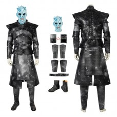 Game Of Thrones Season 8 The Night King Cosplay Costume Full Set