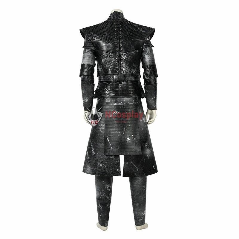 Game Of Thrones Season 8 The Night King Cosplay Costume Full Set