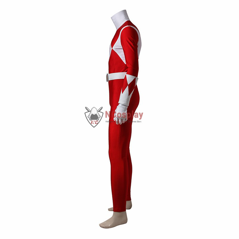 Mighty Morphin Power Rangers Five Color Styles Cosplay Costume Full Set