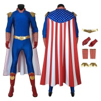 The Boys Season 1 The Homelander Cosplay Costume Full Set