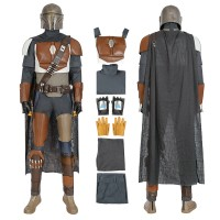 Star Wars The Mandalorian Cosplay Costume Full Set