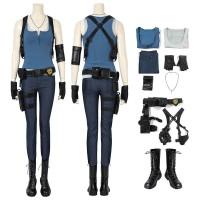 Resident Evil 3 Remake Jill Valentine Cosplay Costume Full Set