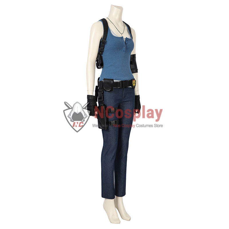 Resident Evil 3 Remake Jill Valentine Cosplay Costume Full Set