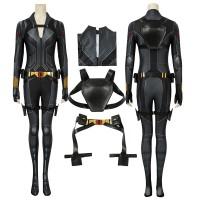 2020 Black Widow Jumpsuit Natasha Romanoff Cosplay Costumes Full Set