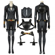 2020 Black Widow Jumpsuit Natasha Romanoff Cosplay Costumes Full Set