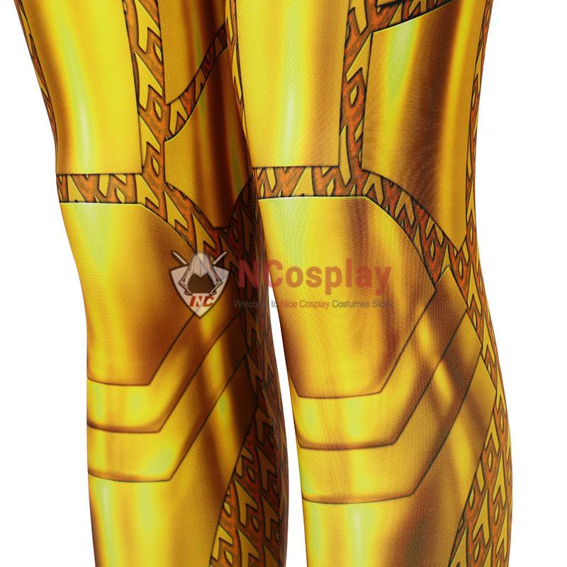 DC Wonder Woman 1984 Golden Cosplay Costume Diana Prince Jumpsuit