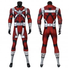 2020 Black Widow Jumpsuit Red Guardian Cosplay Costumes Full Set