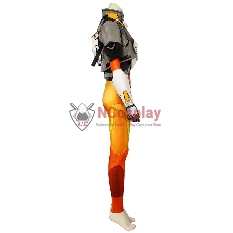 Overwatch 2 Tracer Lena Oxton Cosplay Costume