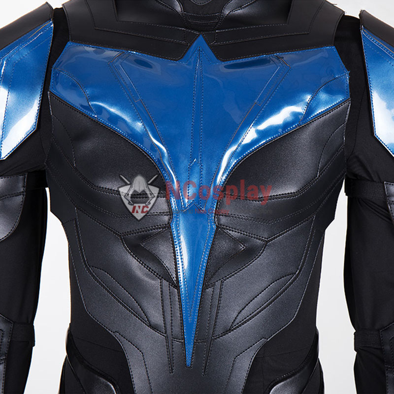 Nightwing Cosplay Costume Titans Dick Grayson Outfit