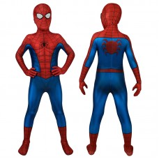 Spiderman Classic Ultimate Cosplay Costume Spider-Man Jumpsuit For Kids