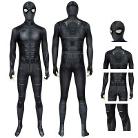 Spiderman Far From Home Peter Parker Jumpsuit Spiderman Night Monkey Cosplay Costume