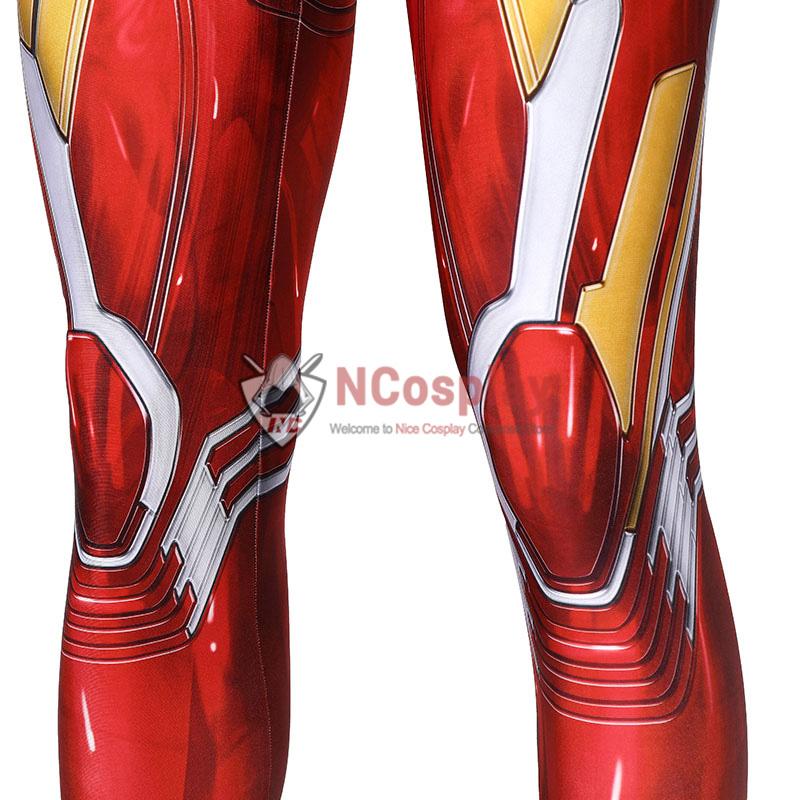 Marvel Avengers Iron Man Jumpsuit Tony Stark Cosplay Costume