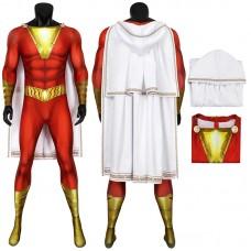 DC Comics Shazam Jumpsuit Billy Batson Cosplay Costume