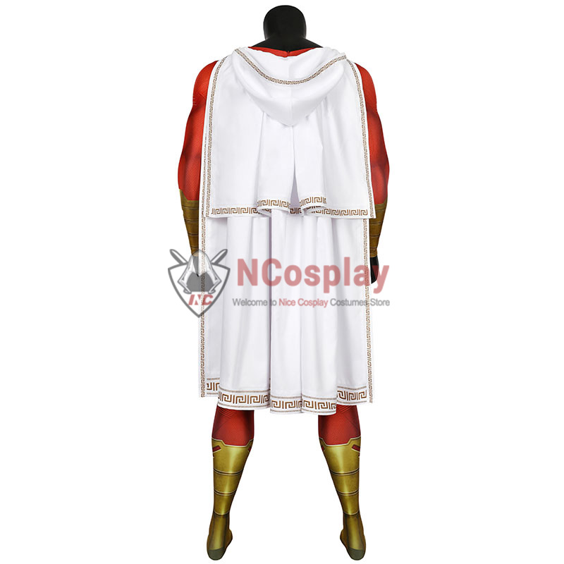 DC Comics Shazam Jumpsuit Billy Batson Cosplay Costume