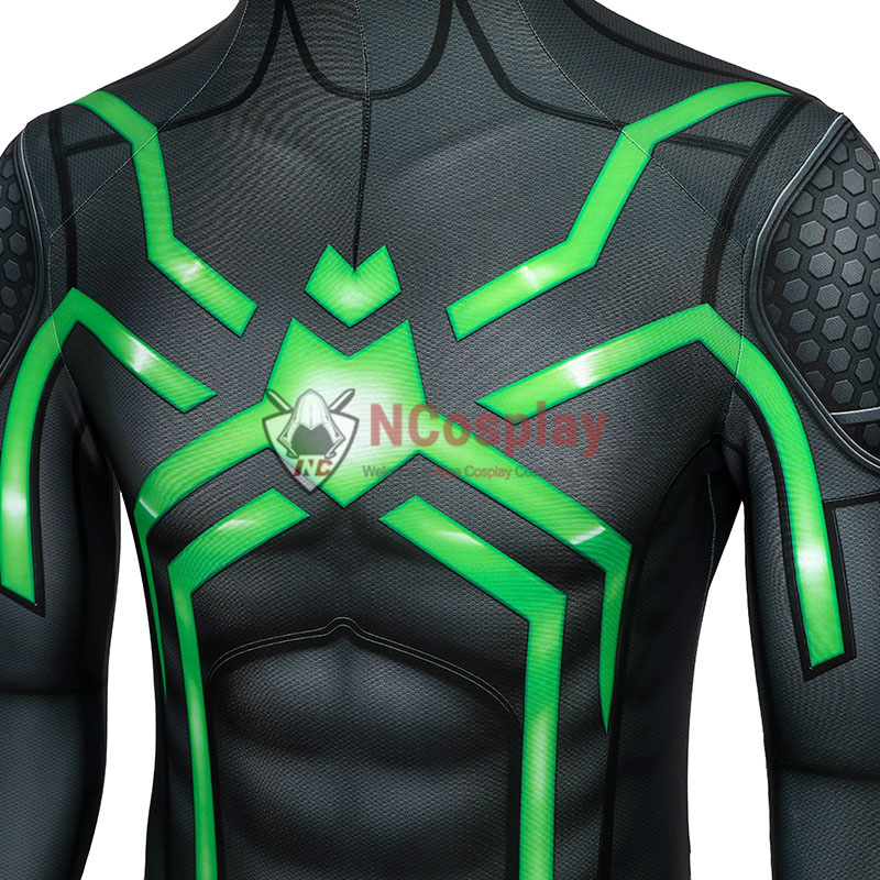 Spider Man PlayStation 4 Jumpsuit Spiderman Stealth Big Time Cosplay Costume