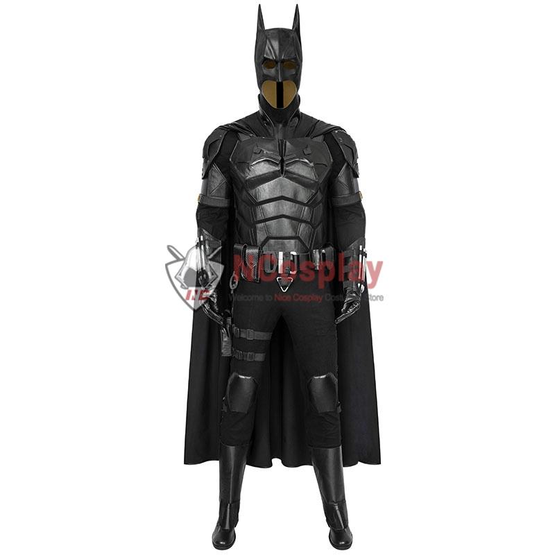 2021 Movie The Batman Bruce Wayne Robert Pattinson Cosplay Costume Suit
