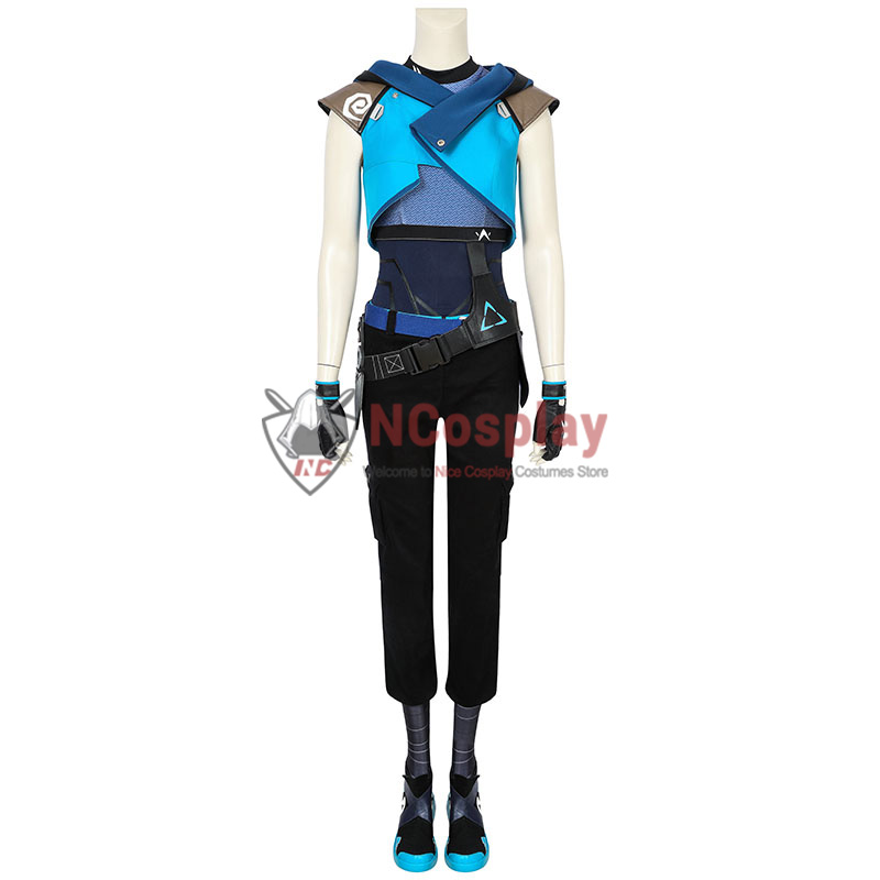 Valorant Jett Cosplay Costume Suit