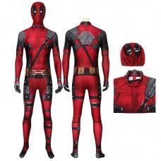 Deadpool Wade Wilson Jumpsuit Cosplay Costume Top Level