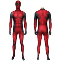 Deadpool Jumpsuit Wade Wilson Cosplay Costume