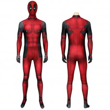 Deadpool Jumpsuit Wade Wilson Cosplay Costume