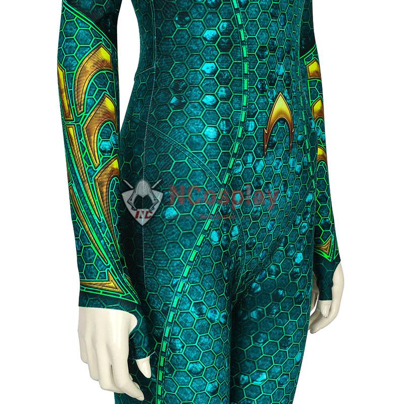 DC Aquaman Mera Jumpsuit Cosplay Costume