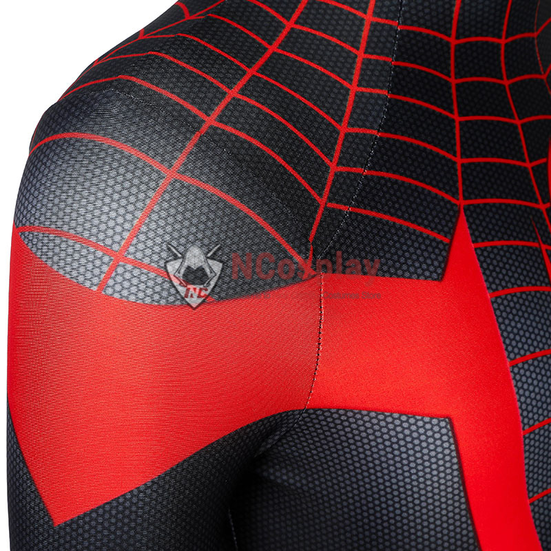 Ultimate Spider Man Cosplay Costume Spiderman PS5 Miles Morales Jumpsuit For Kids